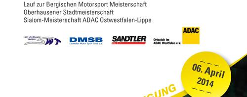 Ankündigung 36.ADAC-HAC-Slalom 06.04.2014
