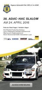 HAC Slalom Ausschreibung 2016