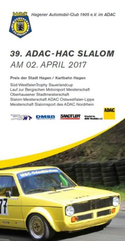 Online-Nennung HAC Autoslalom