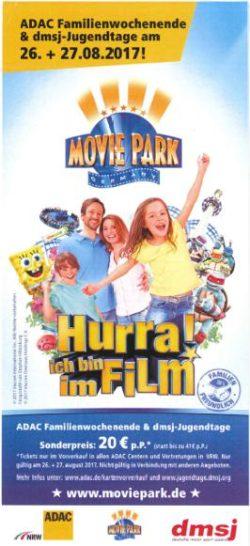 Movie Park zum Sonderpreis