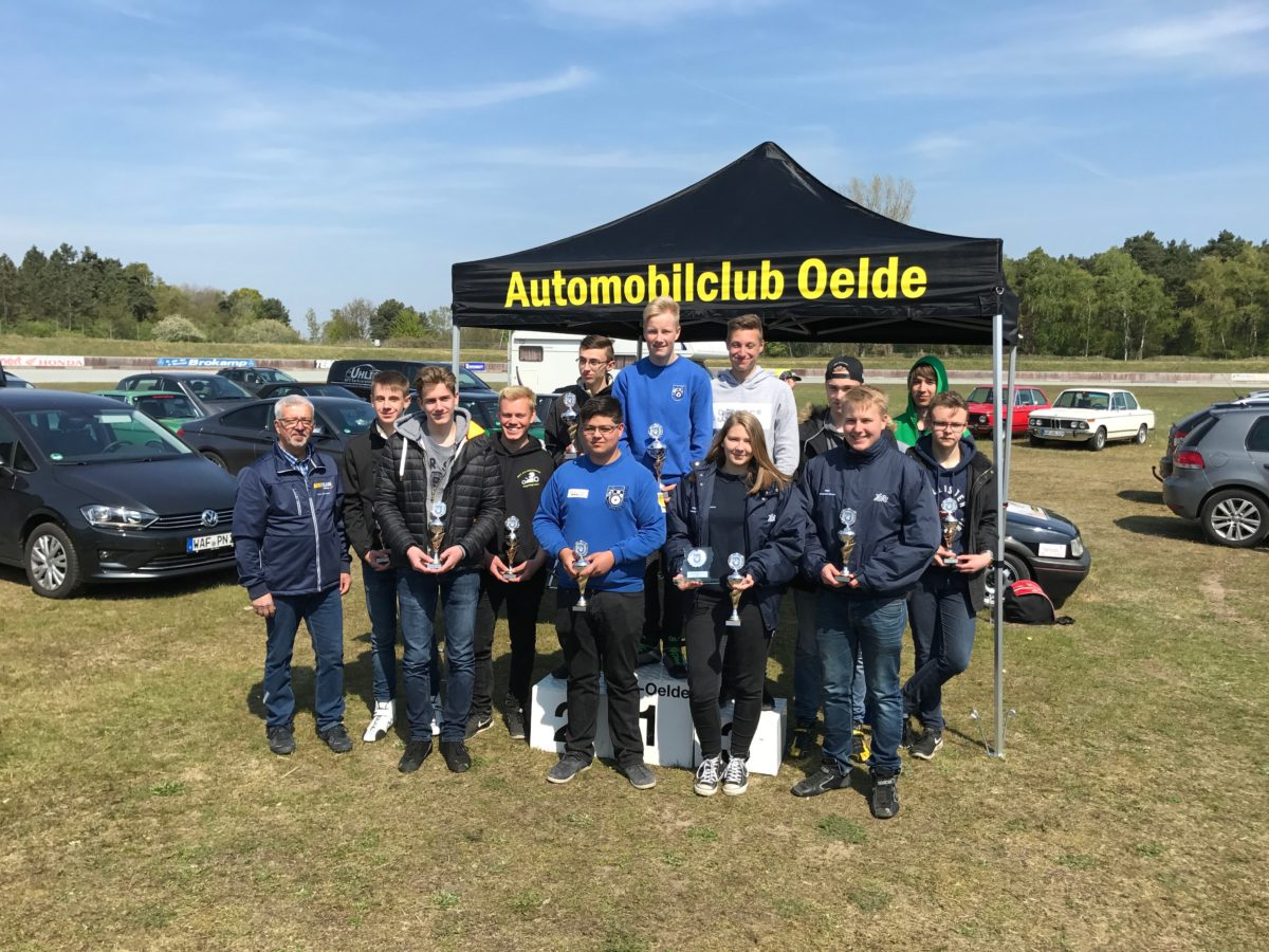 Ergebnisse vom Automobil Youngstercup beim AC Oelde