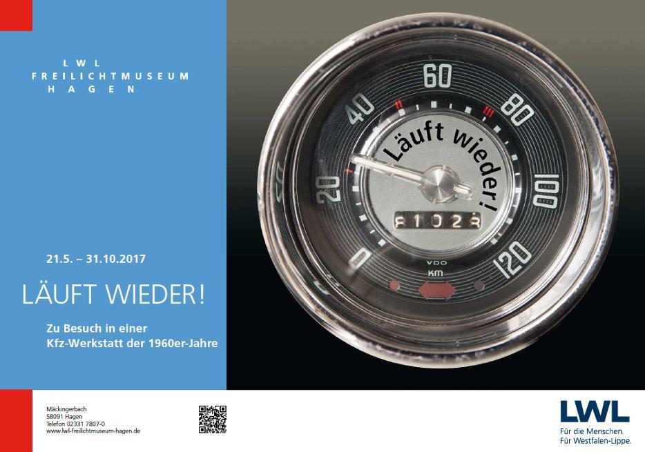 Oldtimer- und Youngtimertreffen am 10.09.2017 im LWL-Freilichtmuseum Hagen