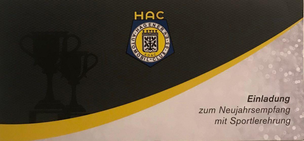 HAC Neujahrsempfang mit Sportlerehrung