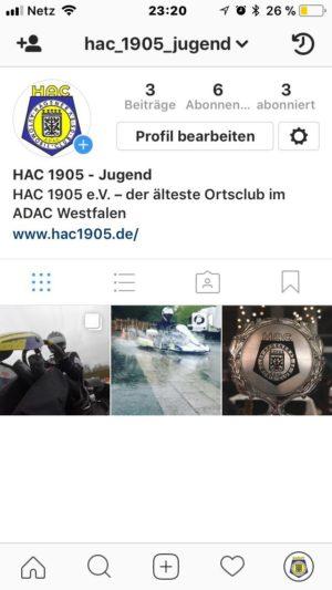 HAC goes Instagram