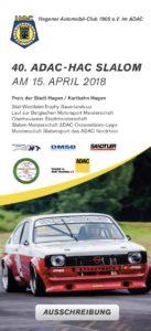 40. HAC Automobilslalom @ Motodrom Hagen | Hagen | Nordrhein-Westfalen | Deutschland