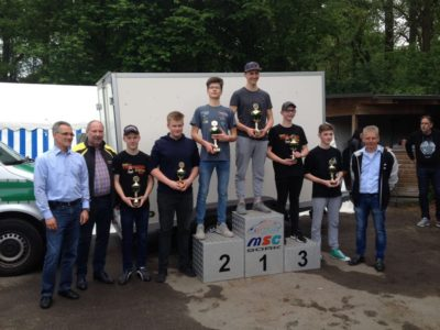 Ergebnisse Automobil-Youngstercup am 29.04.2018