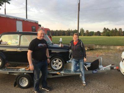Die Schäfers bei der Oldtimer Rallye in Hamburg