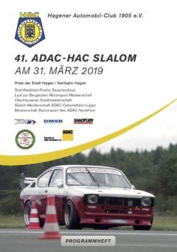 41. HAC Slalom im Motodrom Hagen